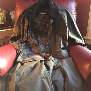 Jackets & Blazers - Barbour Classic Burghley Women Long Trench Coat